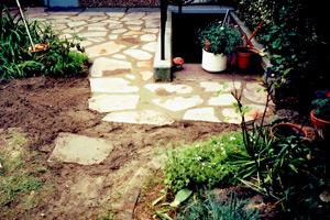 Klara Gartenbau Köln - Terrasse aus Steinen