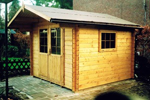 Klara Gartenbau Köln - Holzhütte